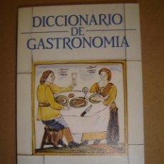 Diccionarios de segunda mano: DICCIONARIO DE GASTRONOMIA - CARLOS DELGADO. Lote 41223739