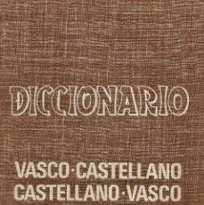 Diccionarios de segunda mano: MINI DICCIONARIO VASCO - CASTELLANO / CASTELLANO - VASCO -ED. GRAN ENCICLOPEDIA VASCA -AÑO 1968 - JB. Lote 41562669