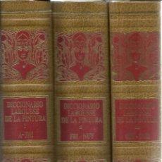 Diccionarios de segunda mano: DICCIONARIO LAROUSSE DE LA PINTURA. PLANETA-AGOSTINI. 3 TOMOS. BARCELONA. 1987. Lote 41801484