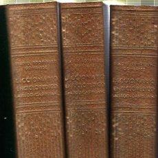 Diccionarios de segunda mano: DICCIONARIO ENCICLOPEDICO GALLEGO - CASTELLANO. 3 TOMOS. EDITORIAL GALAXIA. VIGO. 1958 - 61. Lote 42125446