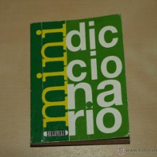 Diccionarios de segunda mano: MINI DICCIONARIO DE ESPAÑOL-CASTELLANO-. 10 X 7,5 X 1,8 CM. VER FOTOS.. Lote 42215890