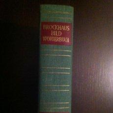 Diccionarios de segunda mano: BROCKHAUS BILD WÖRTERBUCH. FRANZÖSISCH - DEUTSCH. 1956. IN PERFEKTEM ZUSTAND.. Lote 42231841
