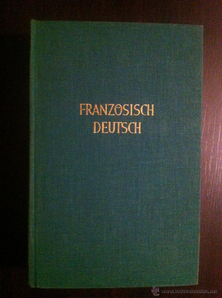 Diccionarios de segunda mano: Brockhaus Bild Wörterbuch. Französisch - Deutsch. 1956. In perfektem Zustand. - Foto 2 - 42231841