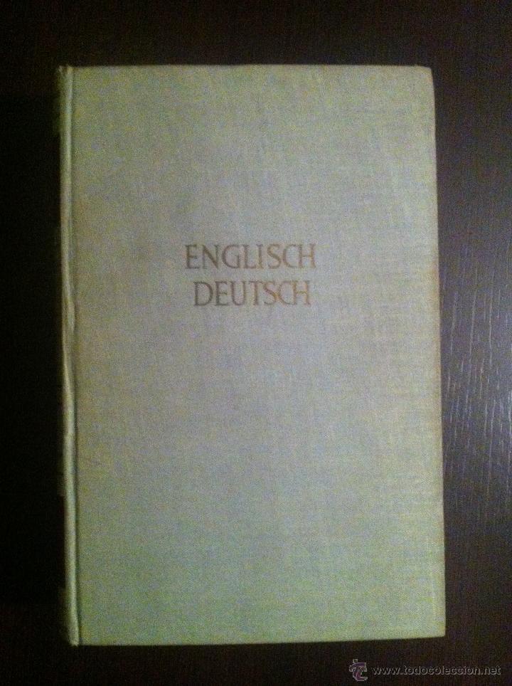 Diccionarios de segunda mano: Brockhaus Bild Wörterbuch. Englisch - Deutsch. 1953. Guter Erhaltungszustand - Foto 2 - 42231865