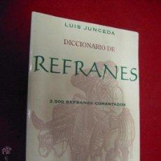 Diccionarios de segunda mano: DICCIONARIO DE REFRANES EDITORIAL ESPASA. Lote 42445319