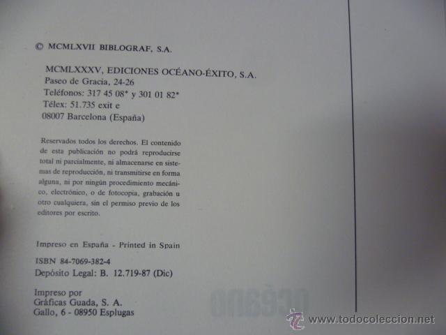 Diccionarios de segunda mano: DICCIONARIO ESPAÑOL INGLES ESPAÑOL OCEANO 1988 - Foto 2 - 42632470