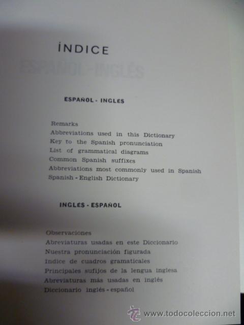 Diccionarios de segunda mano: DICCIONARIO ESPAÑOL INGLES ESPAÑOL OCEANO 1988 - Foto 3 - 42632470