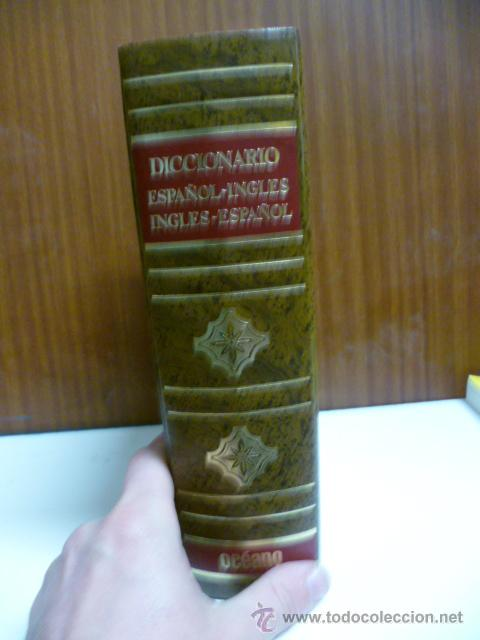Diccionarios de segunda mano: DICCIONARIO ESPAÑOL INGLES ESPAÑOL OCEANO 1988 - Foto 5 - 42632470