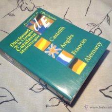 Diccionarios de segunda mano: DICCIONARI DE LA LLENGUA CATALANA MULTILINGÜE - ENCICLOPÈDIA CATALANA. Lote 43108243
