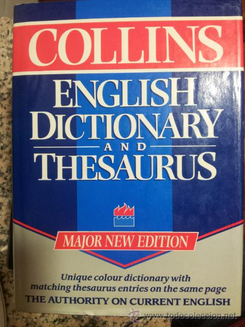ENGLISH DICTIONARY AND THESAURUS  COLLINS
