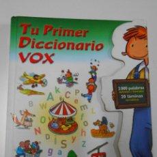 Diccionarios de segunda mano: TU PRIMER DICCIONARIO VOX. 2000 PALABRAS DEFINIDAS E ILUSTRADAS. 20 LÁMINAS TEMÁTICAS. TDK186. Lote 43416784