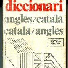 Diccionarios de segunda mano: DICCIONARI ANGLÉS/CATALÀ - CATALÀ/ANGLÉS - JORDI COLOMER. Lote 43657844