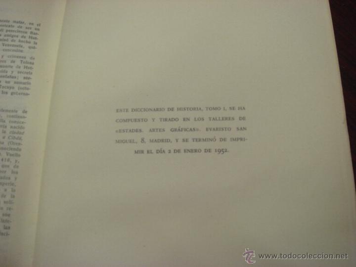 Diccionarios de segunda mano: DICCIONARIO DE HISTORIA DE ESPAÑA.Desde sus orígenes al fin del reinado de Alfonso XIII. 2 T.1952 - Foto 8 - 44384278