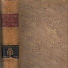 Diccionarios de segunda mano: DICCIONARIO DE LA LENGUA ESPAÑOLA REAL ACADEMIA ESPAÑOLA ESPASA - CALPE 1956 DECIMOCTAVA EDICIÓN. Lote 44406449