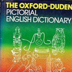 Diccionarios de segunda mano: THE OXFORD - DUDEN PICTORIAL ENGLISH DICTIONARY 28.000 ILLUSTRATIONS. Lote 44646044