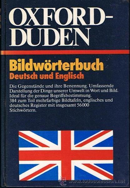 OXFORD - DUDEN BILDWÖRTERBUCH DEUTSCH UND ENGLISCH (Libros de Segunda Mano - Diccionarios)
