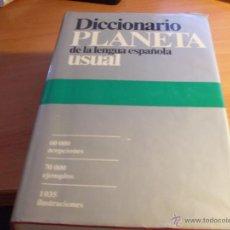 Diccionarios de segunda mano: DICCIONARIO PLANETA DE LA LENGUA ESPAÑOLA. 1988 (ENC1H). Lote 295406783