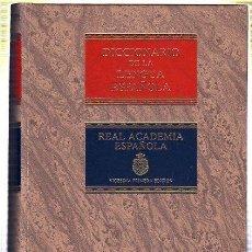 Diccionarios de segunda mano: DICCIONARIO DE LA LENGUA ESPAÑOLA. REAL ACADEMIA ESPAÑOLA. OBRA DE 2 TOMOS. 1992. Lote 45289113