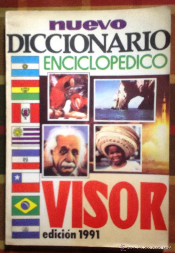 LIBRO NUEVO DICCIONARIO ENCICLOPÉDICO VISOR EDICIÓN 1991 (Libros de Segunda Mano - Diccionarios)