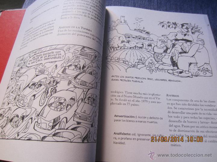 Diccionarios de segunda mano: DICCIONARIO ECOLOGICO- ILUSTRADO POR MINGOTE-PROLOGO ALFONSO USSIA-LUNWERG EDIT.2009- PRECINTADO - Foto 3 - 106895426