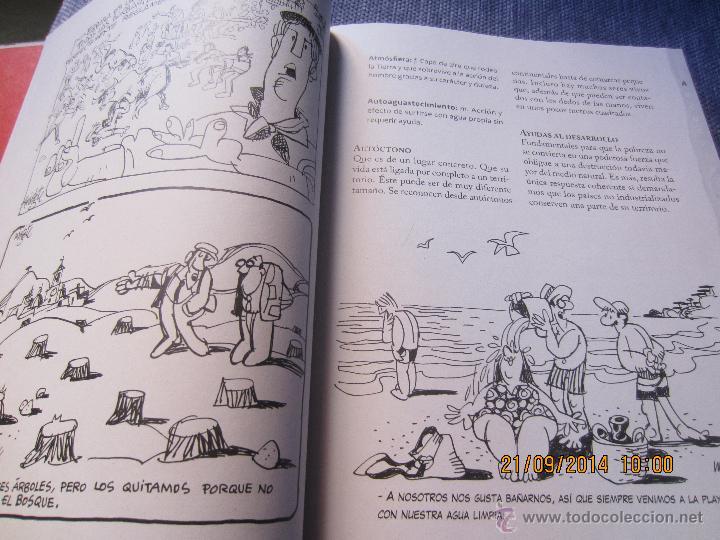 Diccionarios de segunda mano: DICCIONARIO ECOLOGICO- ILUSTRADO POR MINGOTE-PROLOGO ALFONSO USSIA-LUNWERG EDIT.2009- PRECINTADO - Foto 5 - 106895426