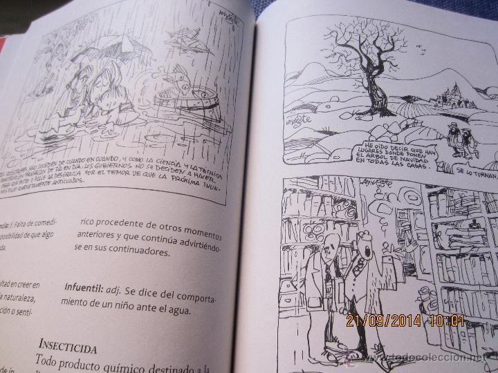 Diccionarios de segunda mano: DICCIONARIO ECOLOGICO- ILUSTRADO POR MINGOTE-PROLOGO ALFONSO USSIA-LUNWERG EDIT.2009- PRECINTADO - Foto 6 - 106895426