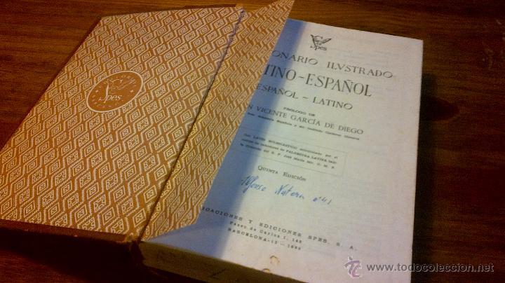 Diccionarios de segunda mano: DICCIONARIO ILUSTRADO LATINO - ESPAÑOL SPES 1958 - Foto 5 - 45520991