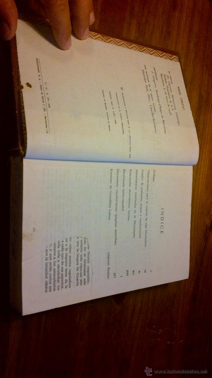 Diccionarios de segunda mano: DICCIONARIO ILUSTRADO LATINO - ESPAÑOL SPES 1958 - Foto 6 - 45520991