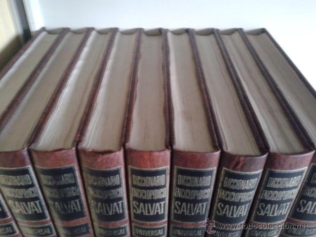 Diccionarios de segunda mano: DICCIONARIO ENCICLOPEDICO SALVAT UNIVERSAL -- 9 TOMOS -- SALVAT -- - Foto 2 - 45616322
