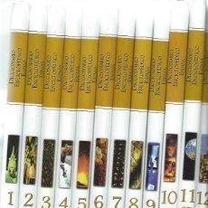 Diccionarios de segunda mano: DICCIONARIO ENCICLOPÉDICO ESPASA 12 TOMOS, 1998, 150 PÁGS CADA UNO, ESCRITO A TRES COLUMNAS, FOTOS. Lote 46032850