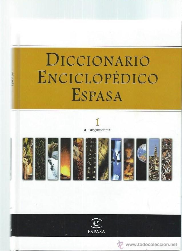 Diccionarios de segunda mano: DICCIONARIO ENCICLOPÉDICO ESPASA 12 TOMOS, 1998, 150 PÁGS CADA UNO, ESCRITO A TRES COLUMNAS, FOTOS - Foto 3 - 46032850