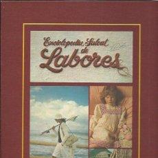 Diccionarios de segunda mano: ENCICLOPEDIA SALVAT DE LABORES, 1980, FASCÍCULOS DEL AÑO 1980, ILUSTRADO A COLOR. Lote 46064945