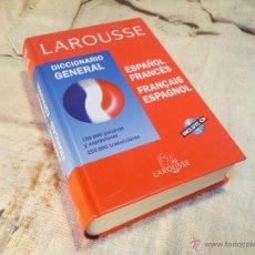 Diccionarios de segunda mano: DICCIONARIO GENERAL LAROUSSE ESPAÑOL FRANCES 2004 NUEVO CON CD. Lote 46389642