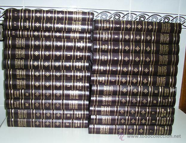 DICCIONARIO ENCICLOPÉDICO UNIVERSAL SALVAT 1995 - 23 TOMOS HASTA 1995 (Libros de Segunda Mano - Diccionarios)