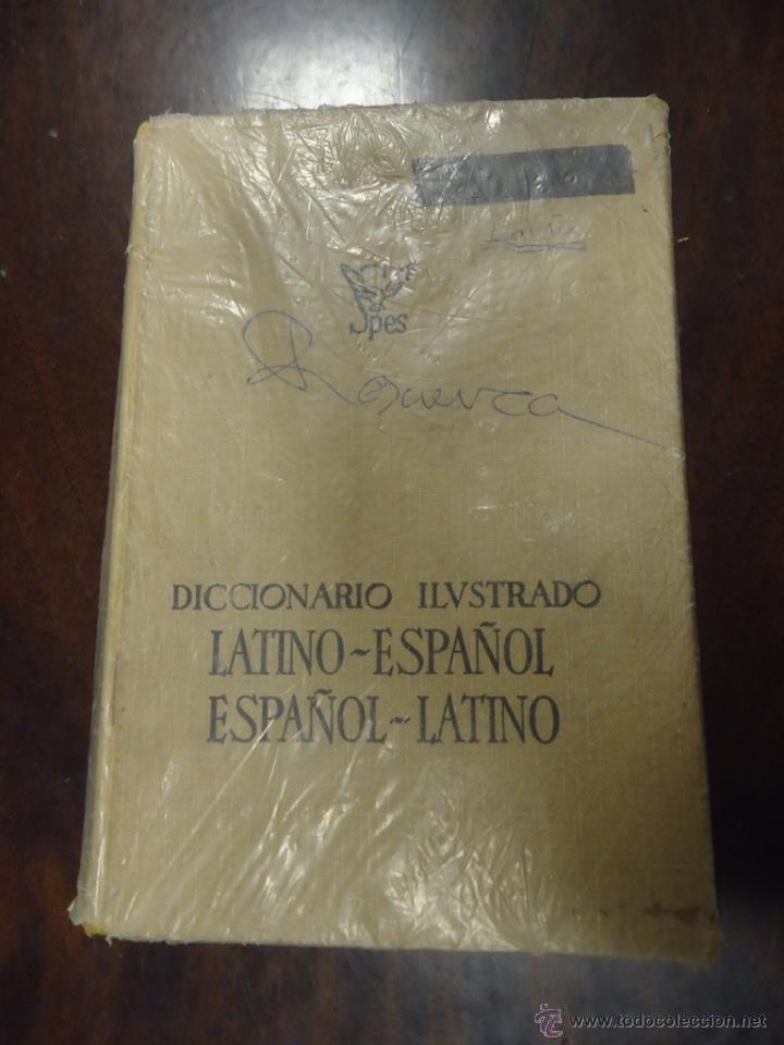 LIBRO DICCIONARIO ILUSTRADO LATINO-ESPAÑOL ESPAÑOL-LATINO EDITORIAL SPES BIBLIOGRAF (Libros de Segunda Mano - Diccionarios)