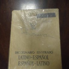 Diccionarios de segunda mano: LIBRO DICCIONARIO ILUSTRADO LATINO-ESPAÑOL ESPAÑOL-LATINO EDITORIAL SPES BIBLIOGRAF. Lote 46924595