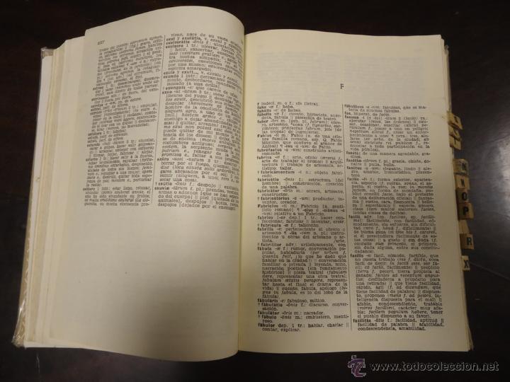 Diccionarios de segunda mano: LIBRO DICCIONARIO ILUSTRADO LATINO-ESPAÑOL ESPAÑOL-LATINO EDITORIAL SPES BIBLIOGRAF - Foto 3 - 46924595