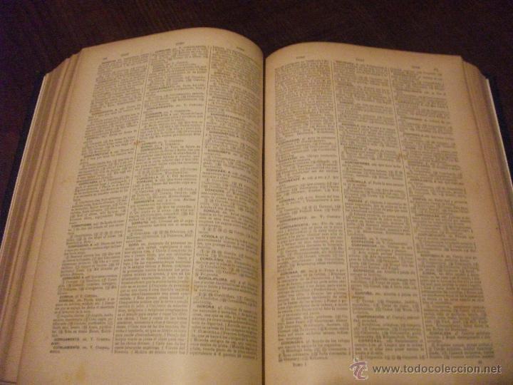 Diccionarios de segunda mano: DICCIONARIO DE DICCIONARIOS 1917 ARTURO MASRIERA Y COLOMER, CASTELLANO LATINO FRANCES CATALAN INGLES - Foto 3 - 46980070