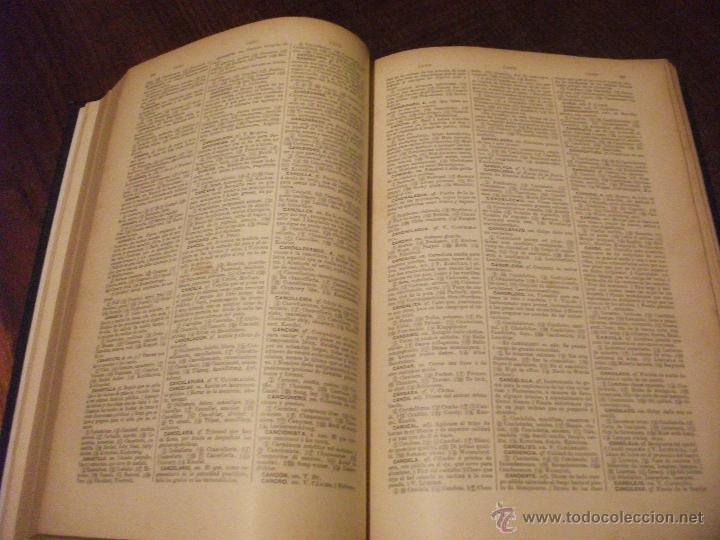 Diccionarios de segunda mano: DICCIONARIO DE DICCIONARIOS 1917 ARTURO MASRIERA Y COLOMER, CASTELLANO LATINO FRANCES CATALAN INGLES - Foto 4 - 46980070