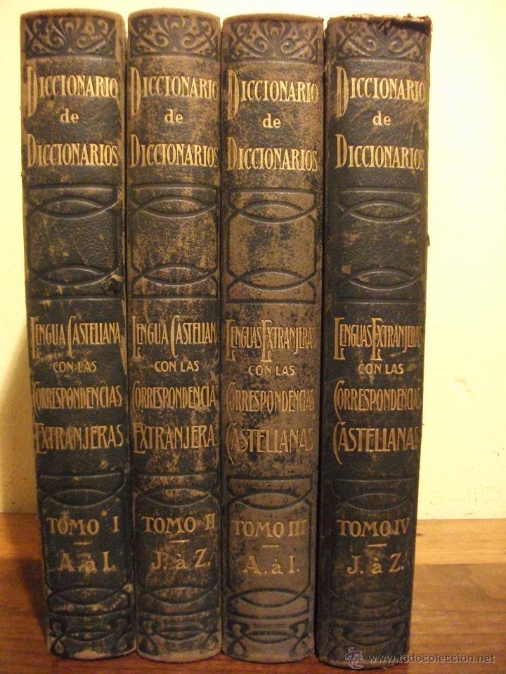 Diccionarios de segunda mano: DICCIONARIO DE DICCIONARIOS 1917 ARTURO MASRIERA Y COLOMER, CASTELLANO LATINO FRANCES CATALAN INGLES - Foto 9 - 46980070