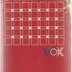 Diccionarios de segunda mano: DICCIONARIO ABREVIADO LENGUA ESPAÑOLA VOX, AÑO 1978, 500 PÁGINAS. Lote 47350279
