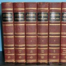 Diccionarios de segunda mano: DICCIONARIO ENCICLOPEDICO VERGARA - 6 TOMOS - EDITORIAL VERGARA - 1967. Lote 47563163