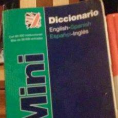 Diccionarios de segunda mano: DICCIONARIO ENGLISH-SPANISH ESPAÑOL-INGLÉS.. Lote 47720922
