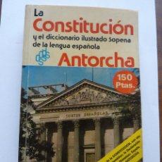 Diccionarios de segunda mano: LIBRO Nº 52 - LA CONSTITUCION Y EL DICCIONARIO ILUSTRADO SOPENA DE LA LENGUA ESPAÑOLA. Lote 47764633