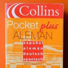 Diccionarios de segunda mano: DICCIONARIO - ESPAÑOL - ALEMAN - DEUTSCH - SPANISCH - COLLINS POCKET PLUS - GRIJALBO 2002. Lote 48716113