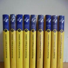 Diccionarios de segunda mano: DICCIONARI DE LA LLENGUA CATALANA, 10 TOMOS, (COLECCION COMPLETA) - NUEVOS. Lote 49328875