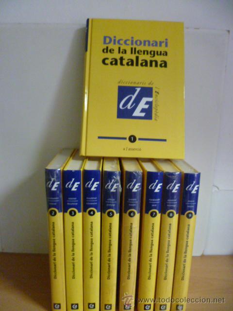 Diccionarios de segunda mano: DICCIONARI DE LA LLENGUA CATALANA, 10 Tomos, (coleccion completa) - Nuevos - Foto 2 - 49328875