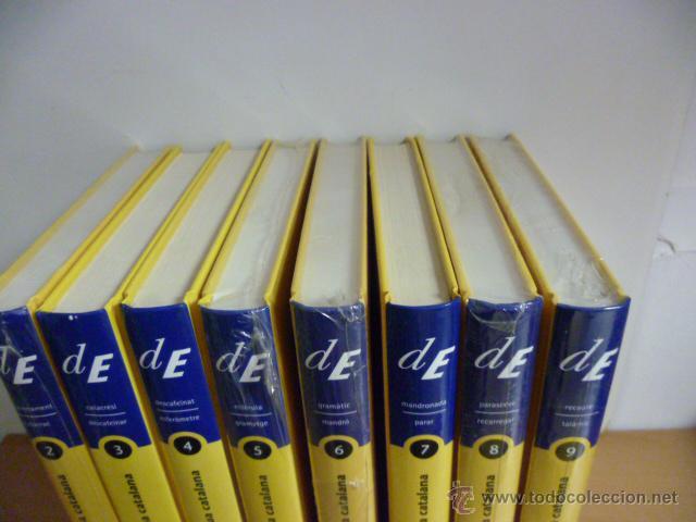 Diccionarios de segunda mano: DICCIONARI DE LA LLENGUA CATALANA, 10 Tomos, (coleccion completa) - Nuevos - Foto 4 - 49328875
