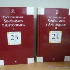 Diccionarios de segunda mano: DICCIONARIO DE SINÓNIMOS Y AUTONIMOS 2 TOMOS, 2004. Lote 49376922