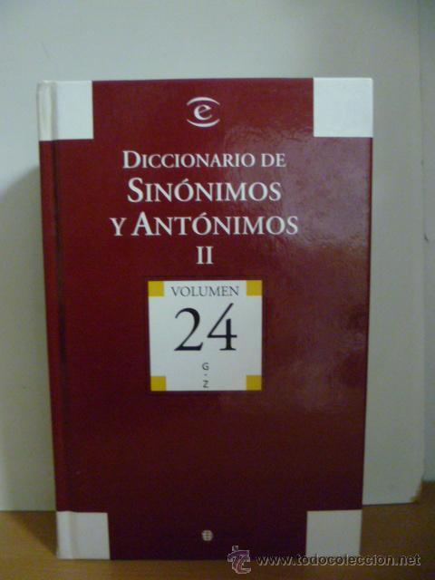 Diccionarios de segunda mano: DICCIONARIO DE SINÓNIMOS Y AUTONIMOS 2 tomos, 2004 - Foto 4 - 49376922